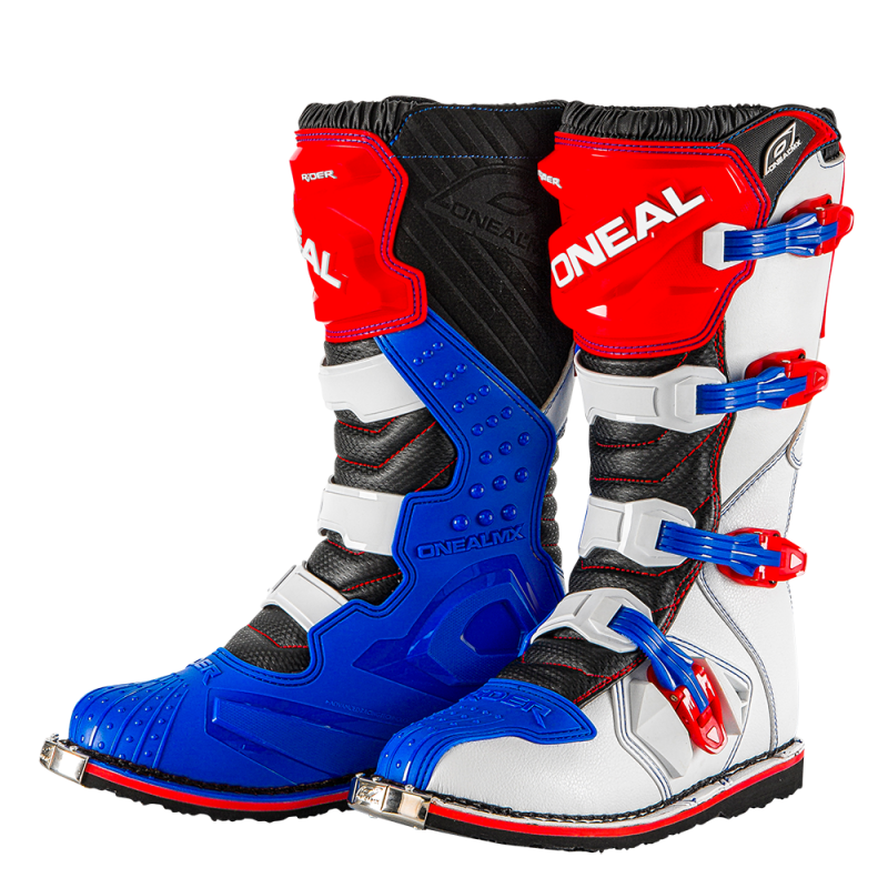 Мотокрос ботуши O'NEAL RIDER BLUE/RED/WHITE