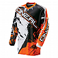 Мотокрос блуза O'NEAL ELEMENT SHOCKER BLACK ORANGE