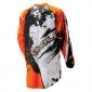 Мотокрос блуза O'NEAL ELEMENT SHOCKER BLACK ORANGE thumb