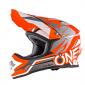 Мотокрос каска O'NEAL 3SERIES FREERIDER BLACK/ORANGE/GREY thumb