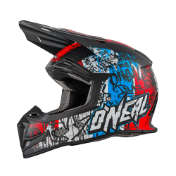 Крос каска O'NEAL VANDAL 5 SERIES BLUE/RED/WHITE