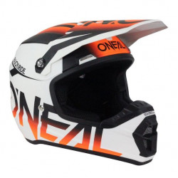 Мотокрос каска O'NEAL 5SERIES BLOCKER BLACK/ORANGE