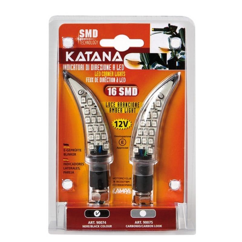 LED мигачи KATANA BLACK – 90074 thumb