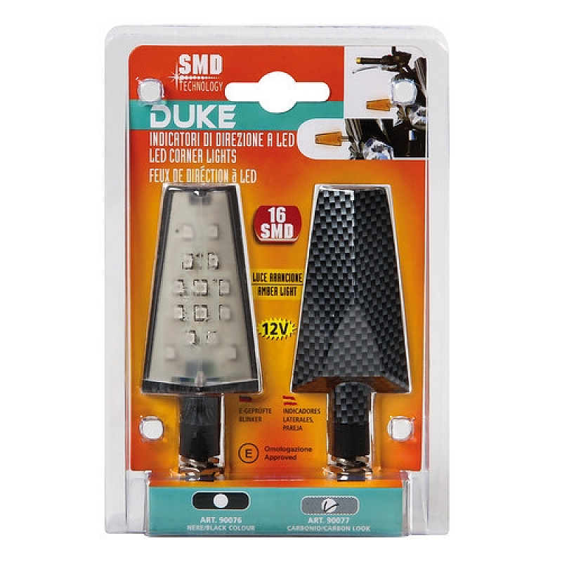 LED мигачи DUKE CARBON- 90077 thumb