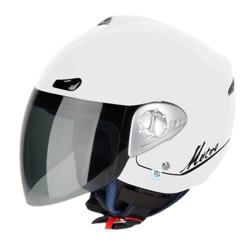 Каска за скутер Gmac metro white
