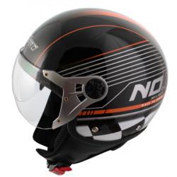 Каска за скутер  FIFTY GRAPHIC BLACK/ORANGE