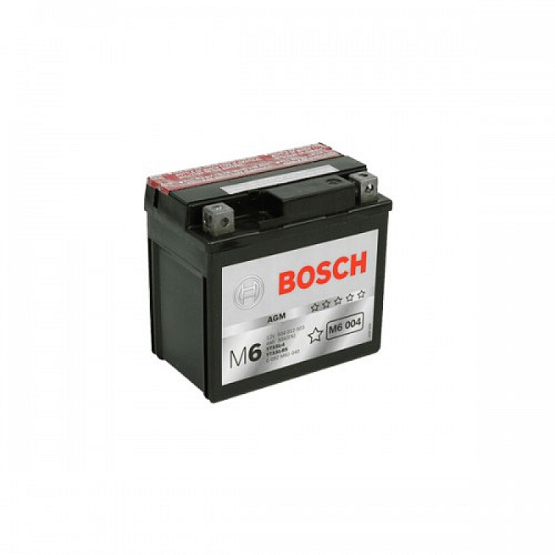 Мото акумулатор Bosch М6 12 V, YTX5L-BS