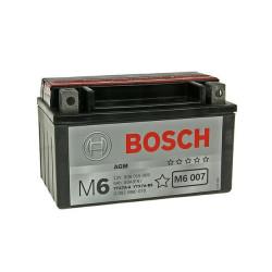 Акумулатор Bosch 6 Ah, 12 V, M 6- YTX7A-BS