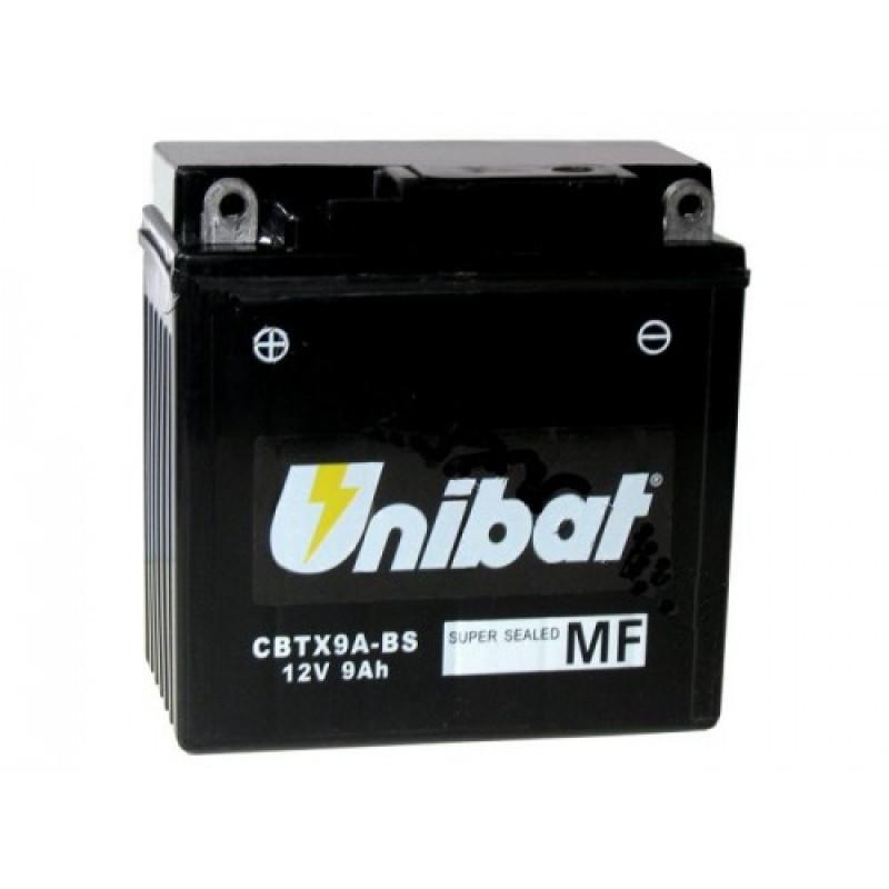 Акумулатор Unibat 9 Ah, 12 V - CBTX9A-BS