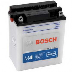 Мото акумулатор Bosch М4 12V YB9L-B