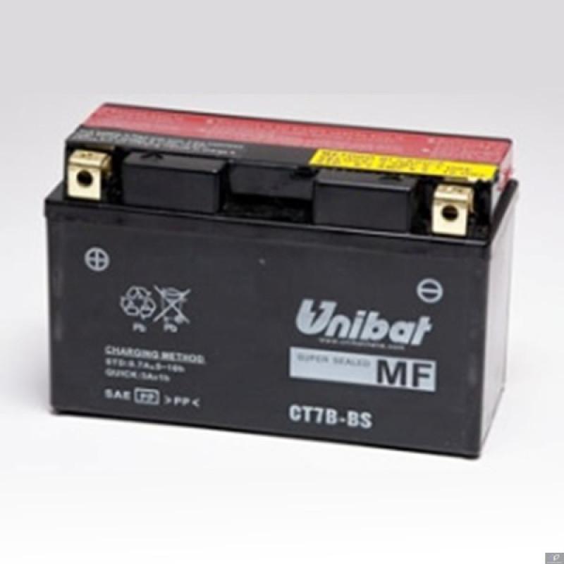 Акумулатор Unibat 6.5 Ah, 12 V - CT7B-BS thumb