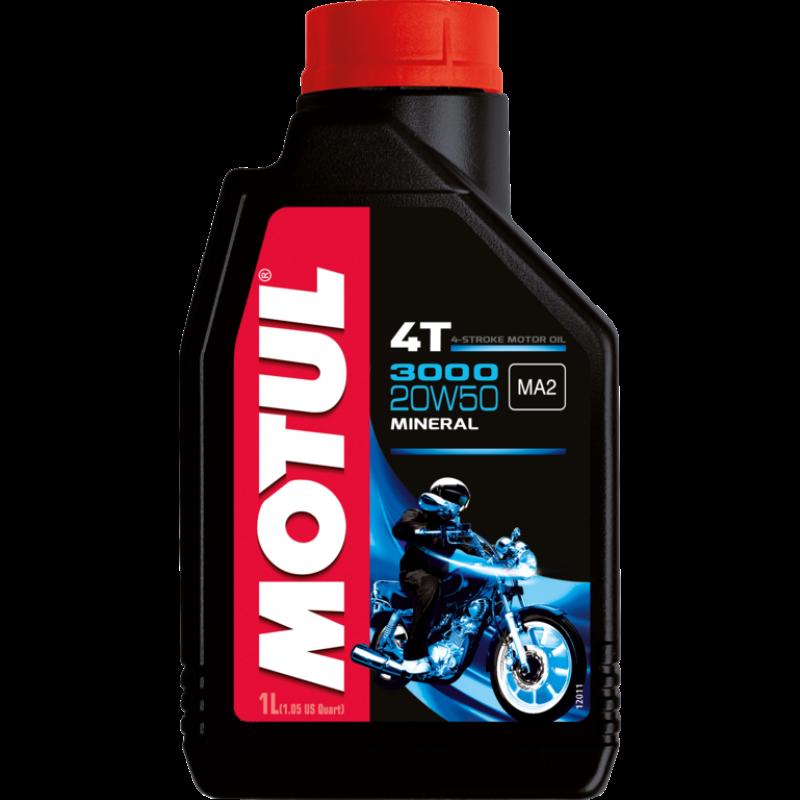 MOTUL 3000 4T 20W-50 - 1 литър thumb