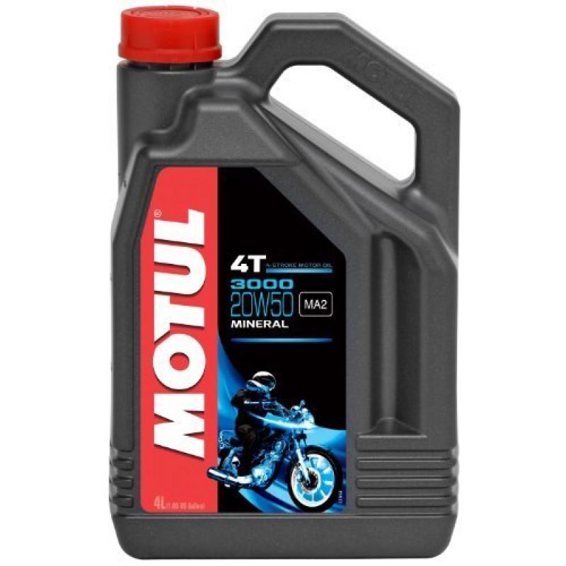 MOTUL 3000 4T 20W-50 - 4 литра thumb