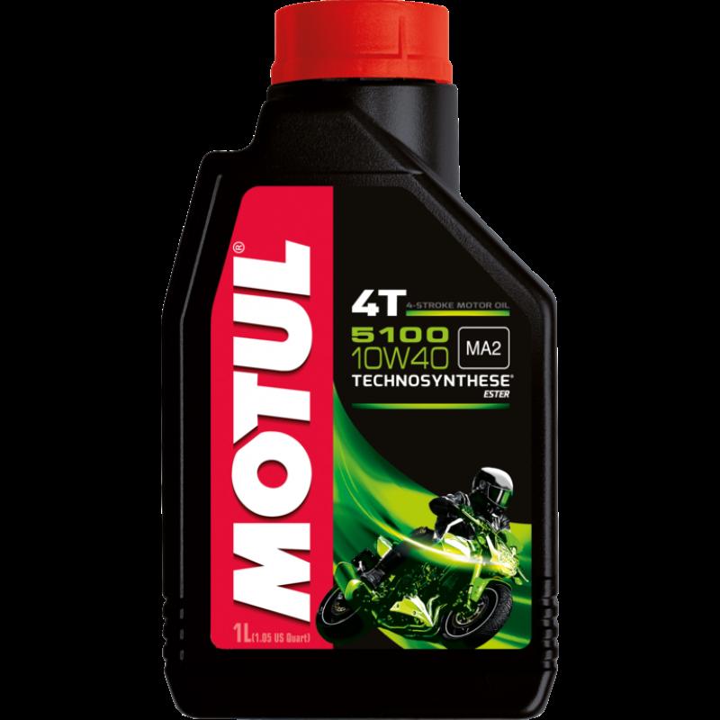 MOTUL 5100 4T 10W-40 - 1 литър thumb
