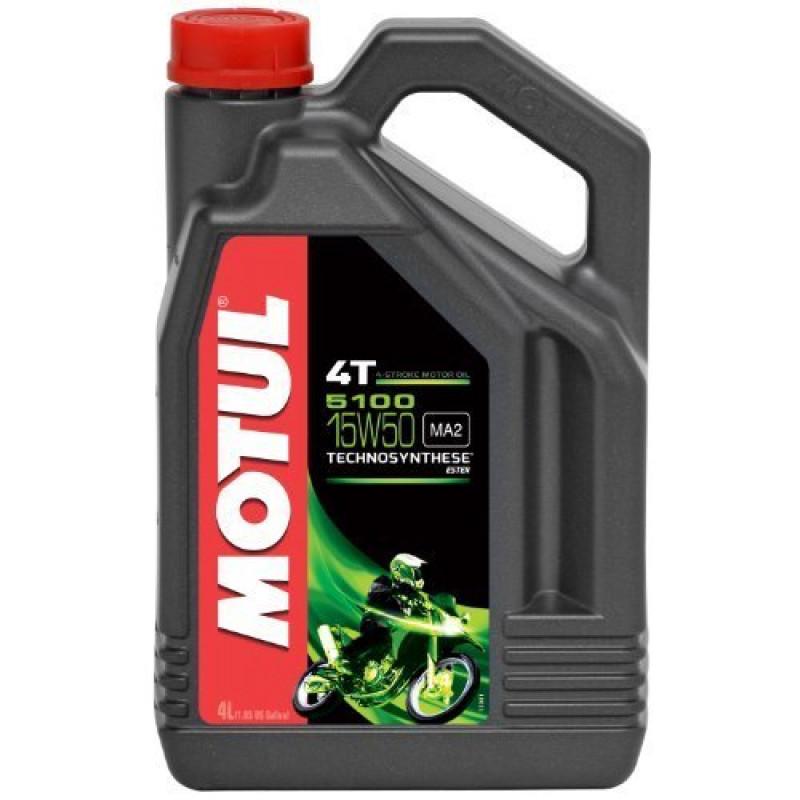 MOTUL 5100 4T 15W-50 - 4 литра thumb