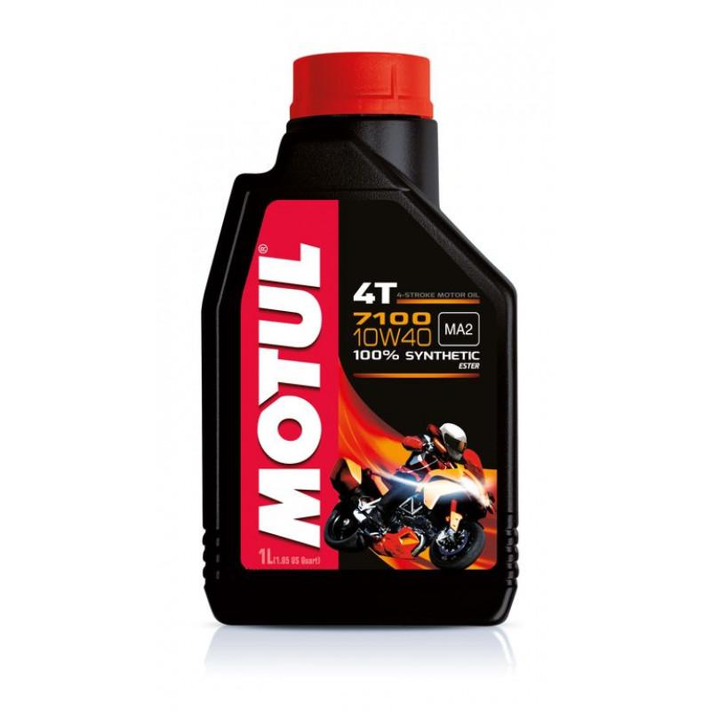 MOTUL 7100 4T 10W-40 - 1 литър thumb