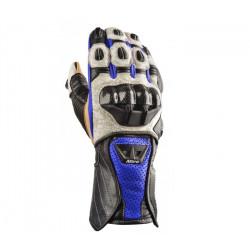 Ръкавици за мотор NITRO NG-102 BLUE CARBON