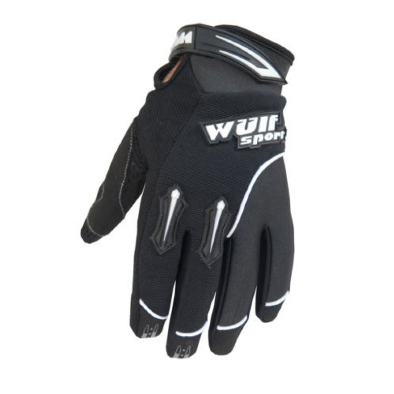 Крос ръкавици WULFSPORT STRATOS BLACK