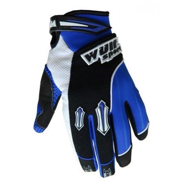 Крос ръкавици Wulf STRATOS BLUE