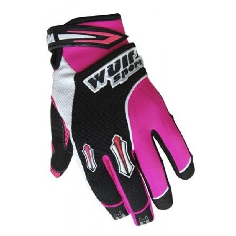 Крос ръкавици WULFSPORT STRATOS PINK