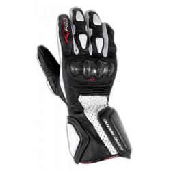 Мото ръкавици A-PRO TILT CARBON WHITE