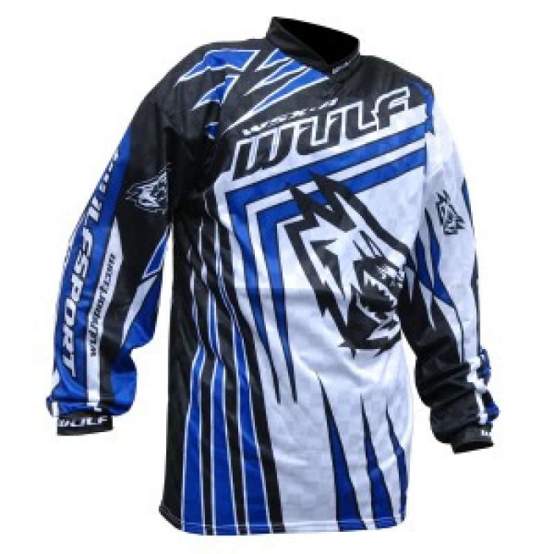 Мотокрос блуза WULFSPORT BLUE