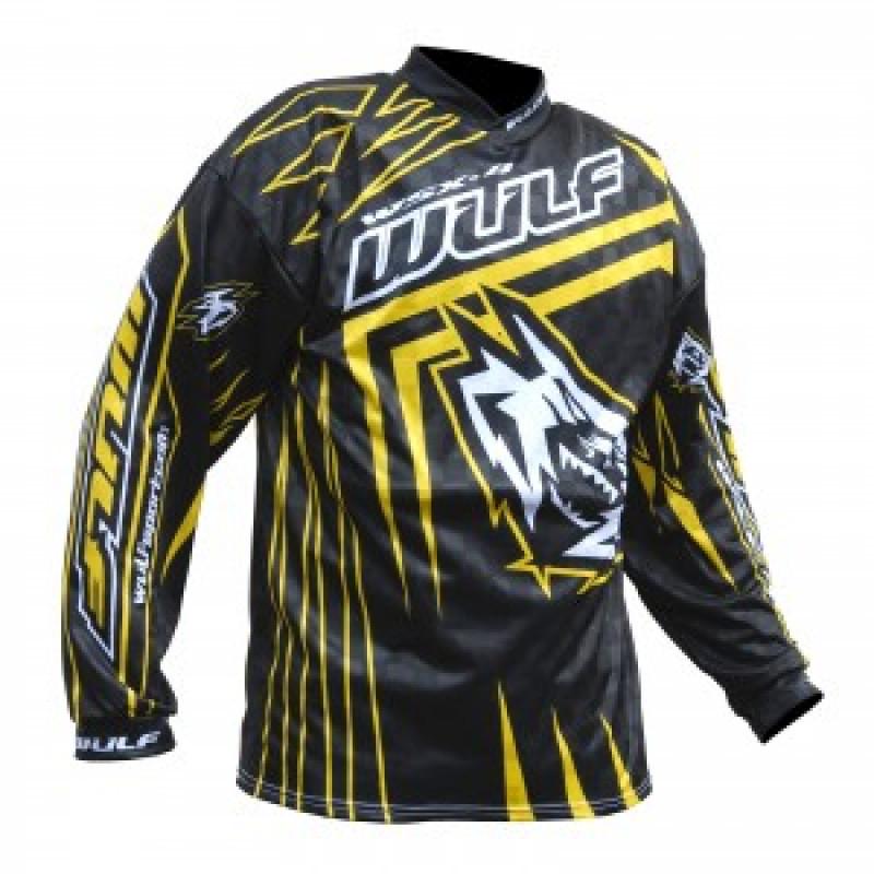 Мотокрос блуза WULFSPORT YELLOW