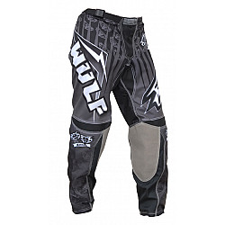 Мотокрос панталон WULFSPORT BLACK