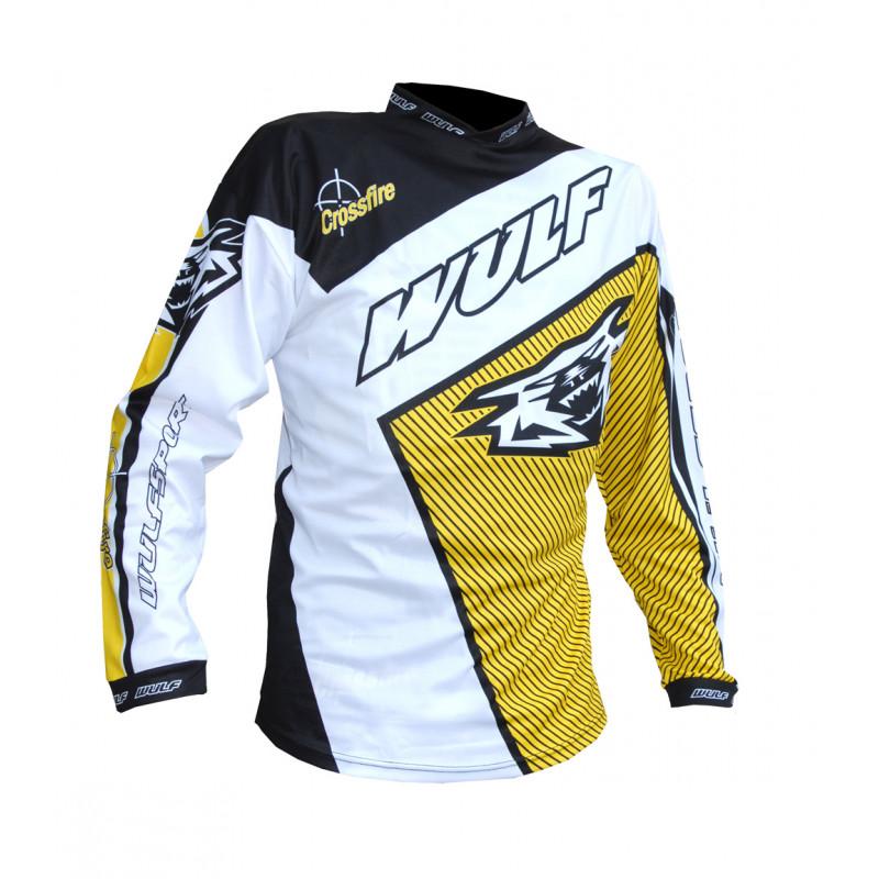 Мотокрос блуза Wulfsport YELLOW 2