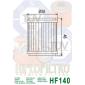 Маслен филтър HIFLO HF140 thumb