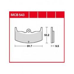 Мото накладки TRW MCB543