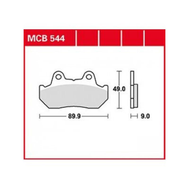 Мото накладки TRW MCB544 thumb