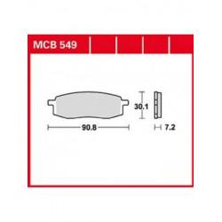 Мото накладки TRW MCB549SI