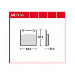 Мото накладки TRW MCB55
