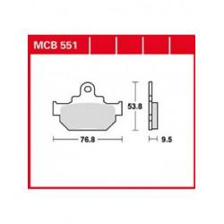 Мото накладки TRW MCB551