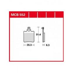 Мото накладки TRW MCB552