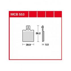 Мото накладки TRW MCB553