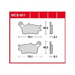 Мото накладки TRW MCB601
