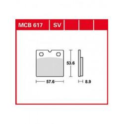 Мото накладки TRW MCB617SV