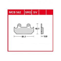 Мото накладки TRW MCB562SV