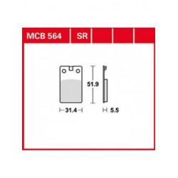 Мото накладки TRW MCB564SR