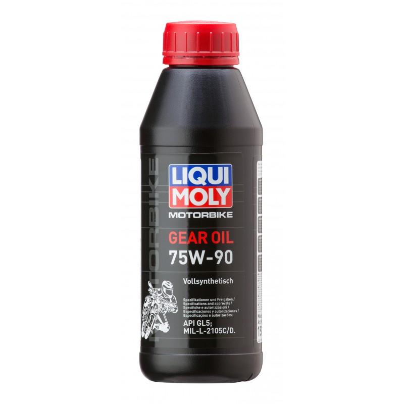 Напълно синтетично трансмисионно масло за мотоциклети LIQUI MOLY SAE 75W-90