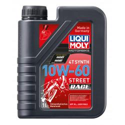 Мотоциклетно масло LIQUI MOLY SAE 10W-60 STREET RACE - 1 литър