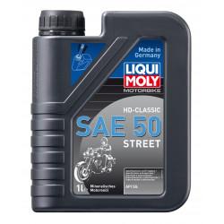 Минерално моторно масло за мотоциклети LIQUI MOLY HD Classic SAE 50