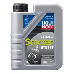 Моторно масло за мотопеди и скутери LIQUI MOLY SCOOTER STREET 2T BASIC