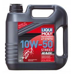 Мотоциклетно масло LIQUI MOLY SAE 10W-50 STREET RACE