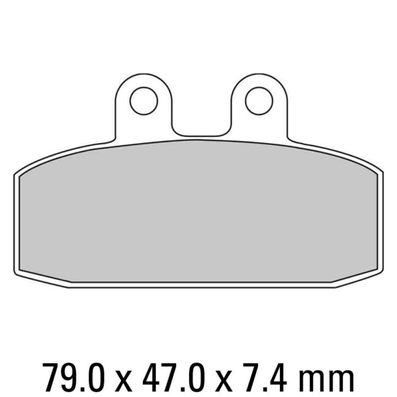 Накладки FERODO FDB438P