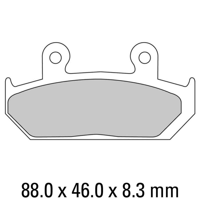 Накладки FERODO FDB452P