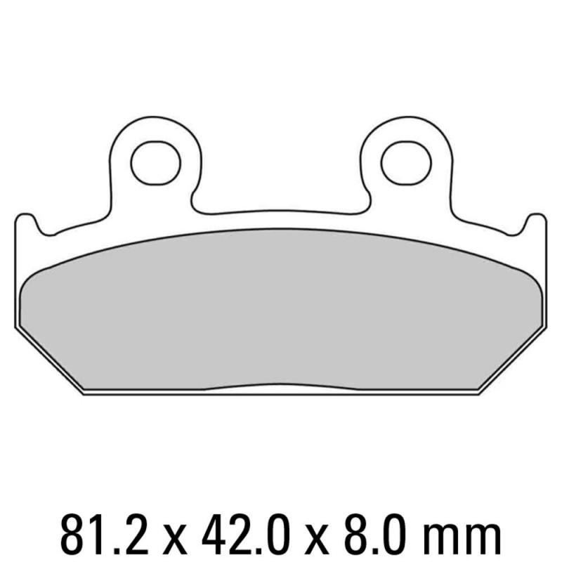 Накладки FERODO FDB462P