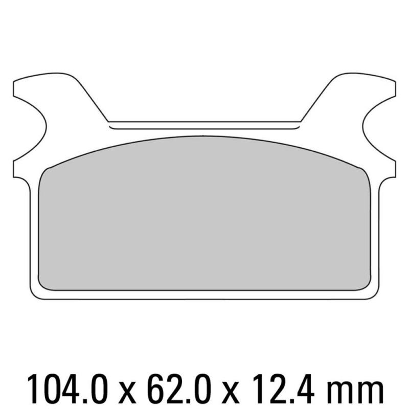 Накладки FERODO FDB485P